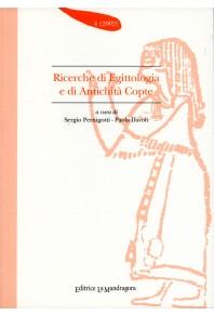 Ricerche di egittologia e di antichità copte - n. 4 2002