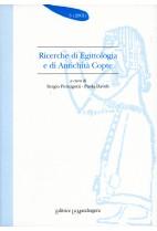 Ricerche di egittologia e di antichità copte - n. 3 2001