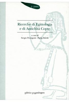 Ricerche di egittologia e di antichità copte - n. 2 2000