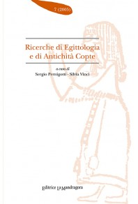 Ricerche di egittologia e di antichità copte - n. 7 2005