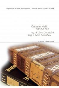 Catasto nelli 1637- 1796 reg. 8 Libro Contadini reg. 9 Libro Forestieri